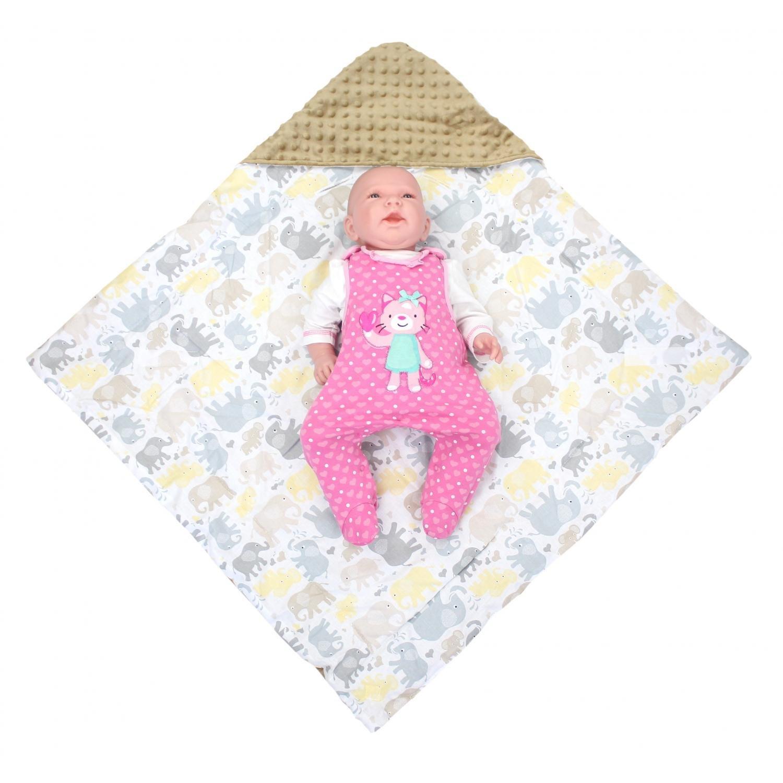TupTam Baby Sommer Einschlagdecke f/ür Babyschale