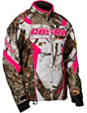 Castle X Bolt Realtree G4 Womens Snowmobile Jacket - Realtree/Hot Pink - LRG