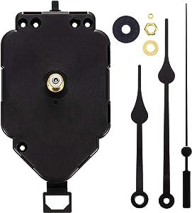 Hicarer Mecanismo de Movimiento de Reloj Péndulo de Eje I Accesorios de Reloj con Agujas de Reloj de Espadas