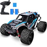 YEZI 1:18 Scale Large RC Cars 46km/h+ Speed, 2.4Ghz All Terrain Waterproof Remote Control Truck,4x4 Electric Rapidly Off…
