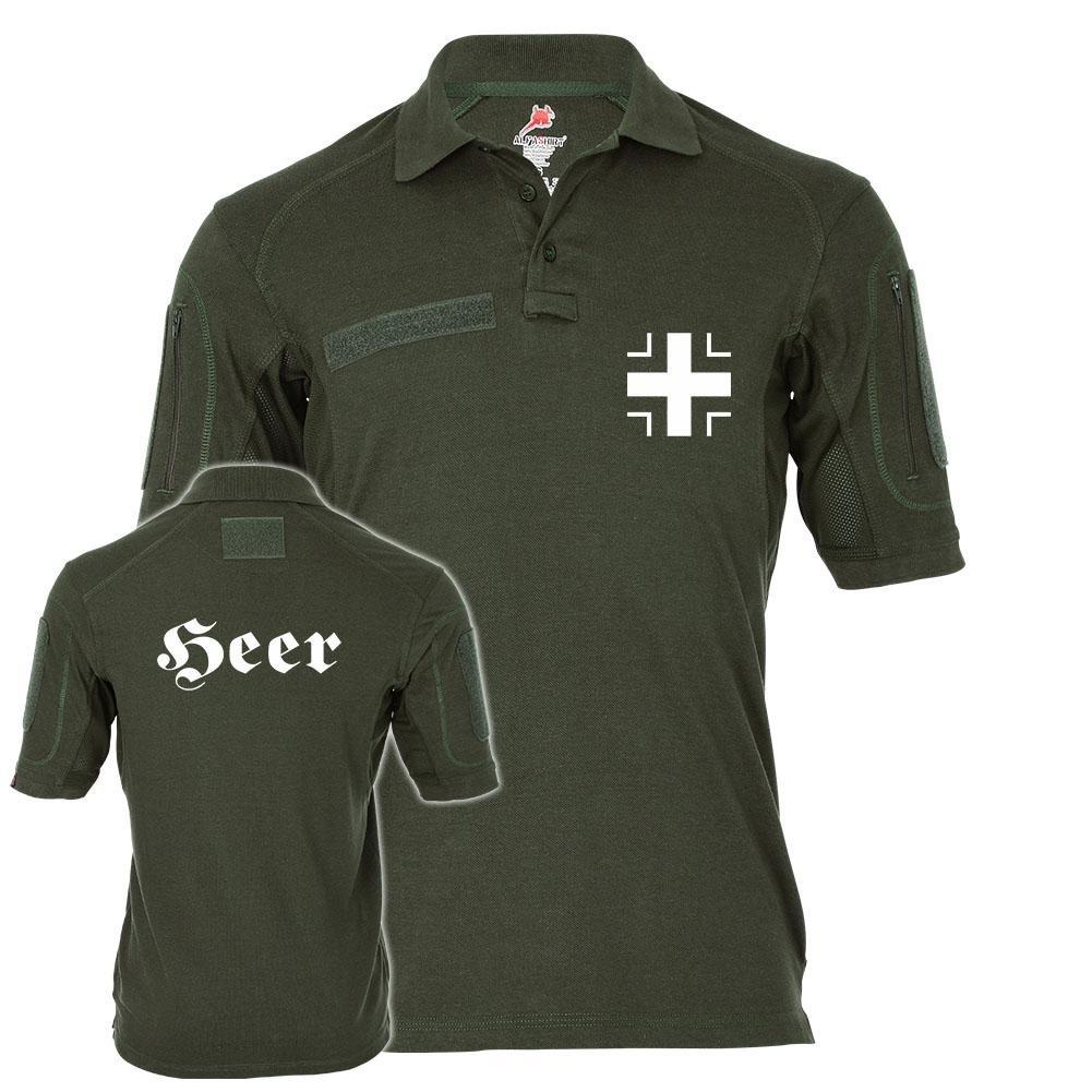 Tactical Poloshirt Alfa - Heer Balkenkreuz Bw Teilstreitkräfte Marine Luftwaffe Militär  19466