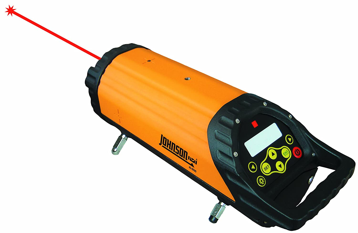 Johnson Level 40 6690 Pipe Laser Orange