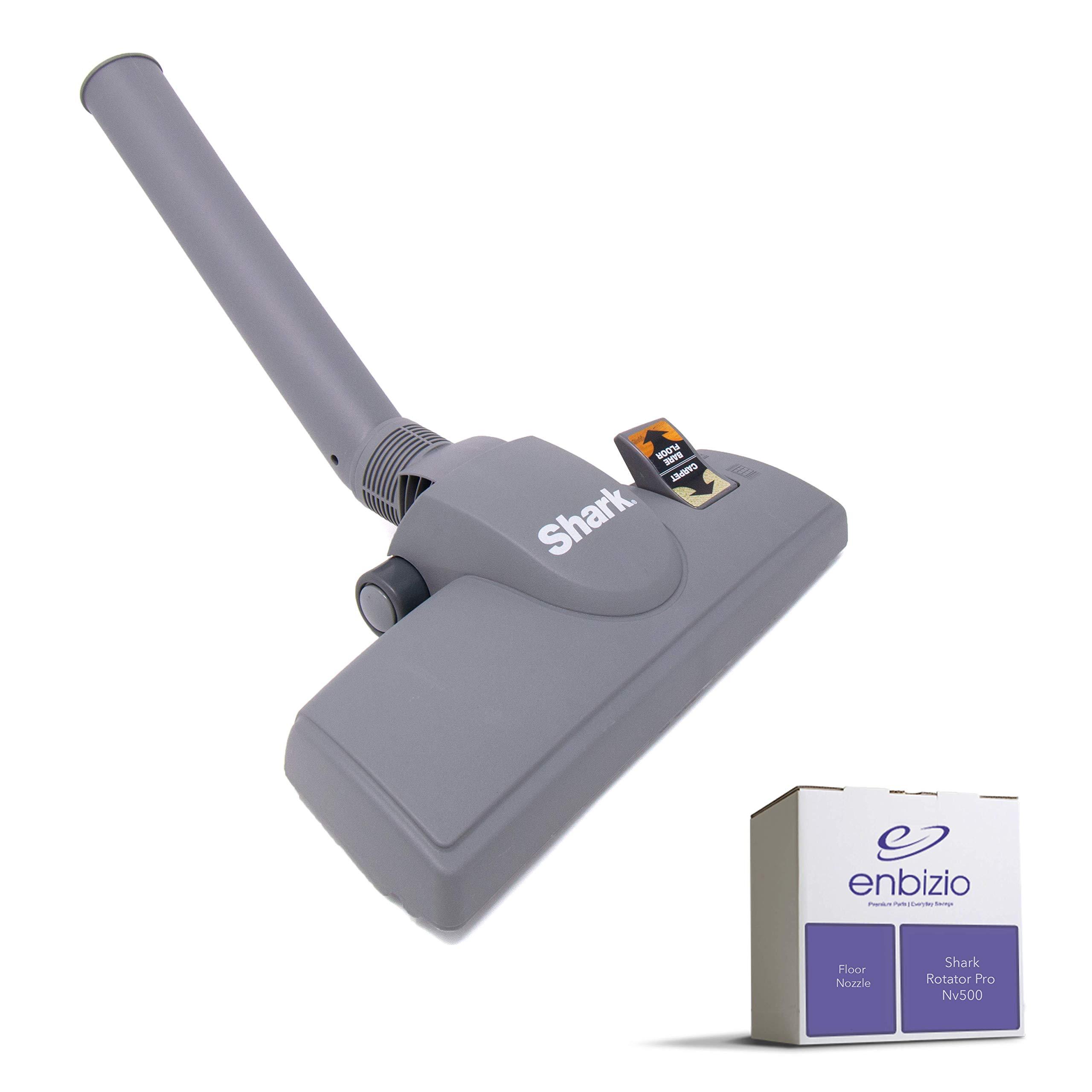 Enbizio - Premium Vacuum Replacement Parts for Shark Rotator Upright Professional Lift Away Nv500 Nv501 Nv502 -  Floor Nozzle Dust Away Brush Tool Attachment - Dark Grey  XSN500 by Enbizio