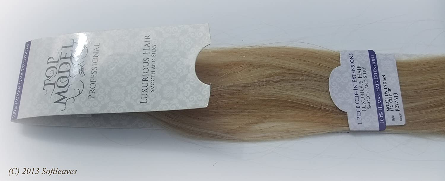 Sleek Top Model European Waves Clip In Hair Extensions 100 Real Human 18 Select Any Colour From The Item Description And Request It By Contacting Us