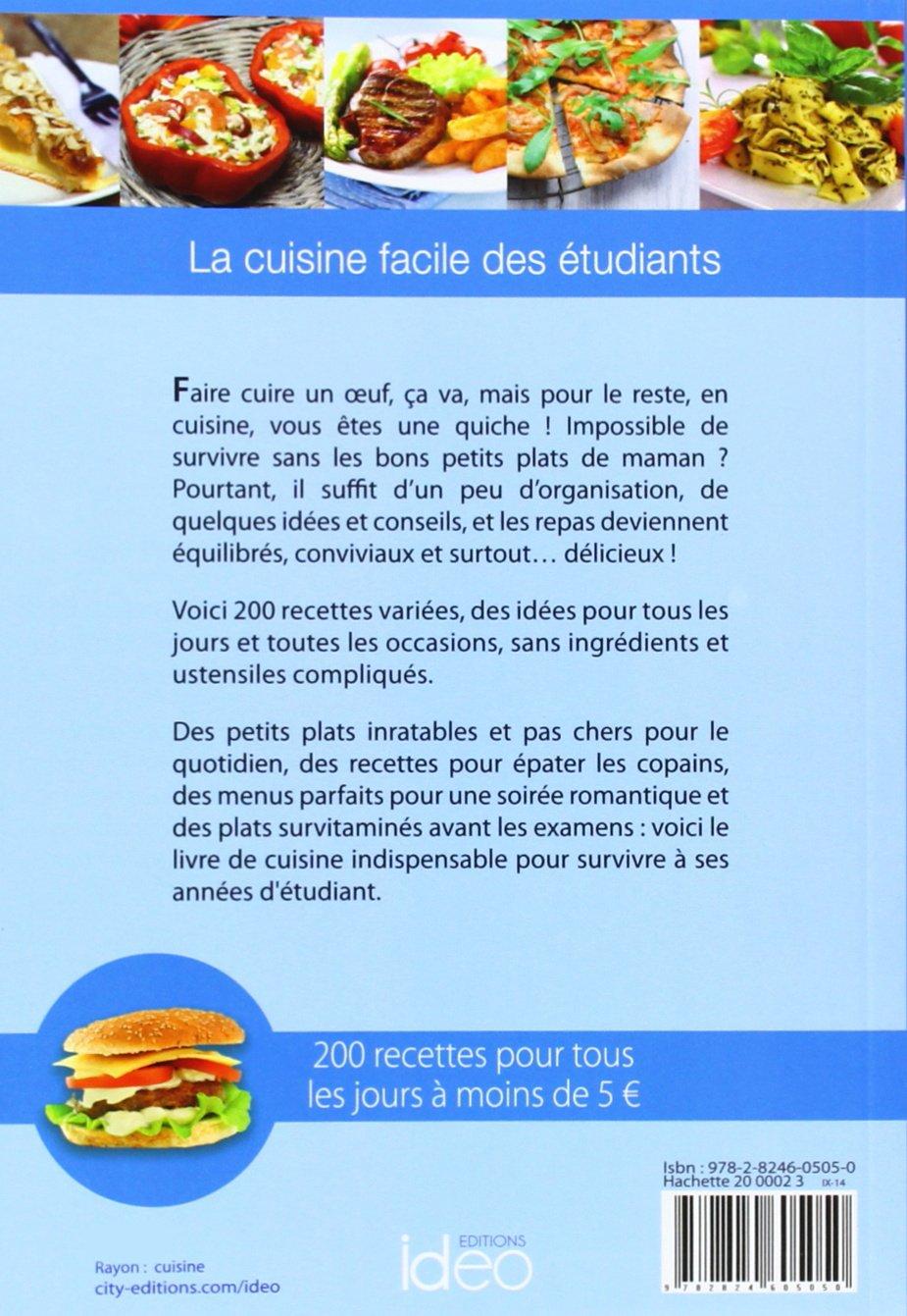 La Cuisine Des Etudiants 2014 City Ideo French Edition
