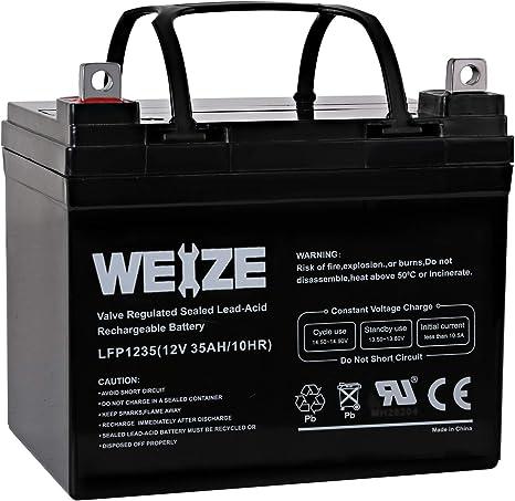 Amazon.com: Hykolity - Batería para patinete (12 V, 35 Ah ...