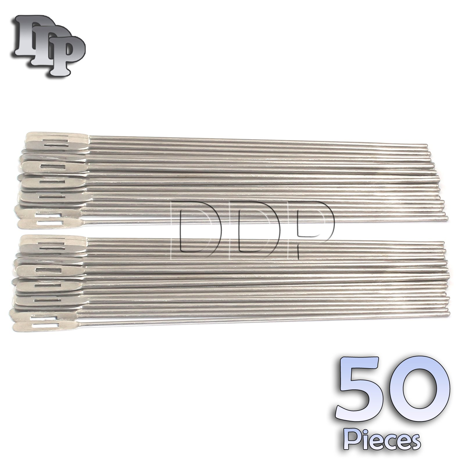 DDP SET OF 50 STAINLESS STEEL PROBE WITH EYE 5.5''