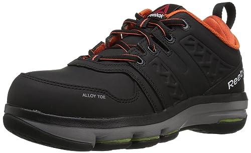 7be34fdeb3c Reebok Work Men's Dmx Flex Work RB3602 Industrial and Construction Shoe,  Black, ...
