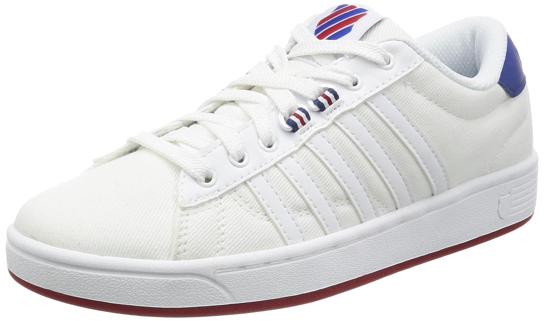 K-Swiss Women's Hoke T CMF Fashion Sneaker B01LZY1SKR 6.5 B(M) US|White/Limoges/Chili Pepper
