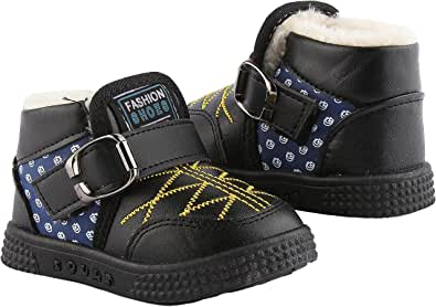 Leather Casual Half Boot For Boys