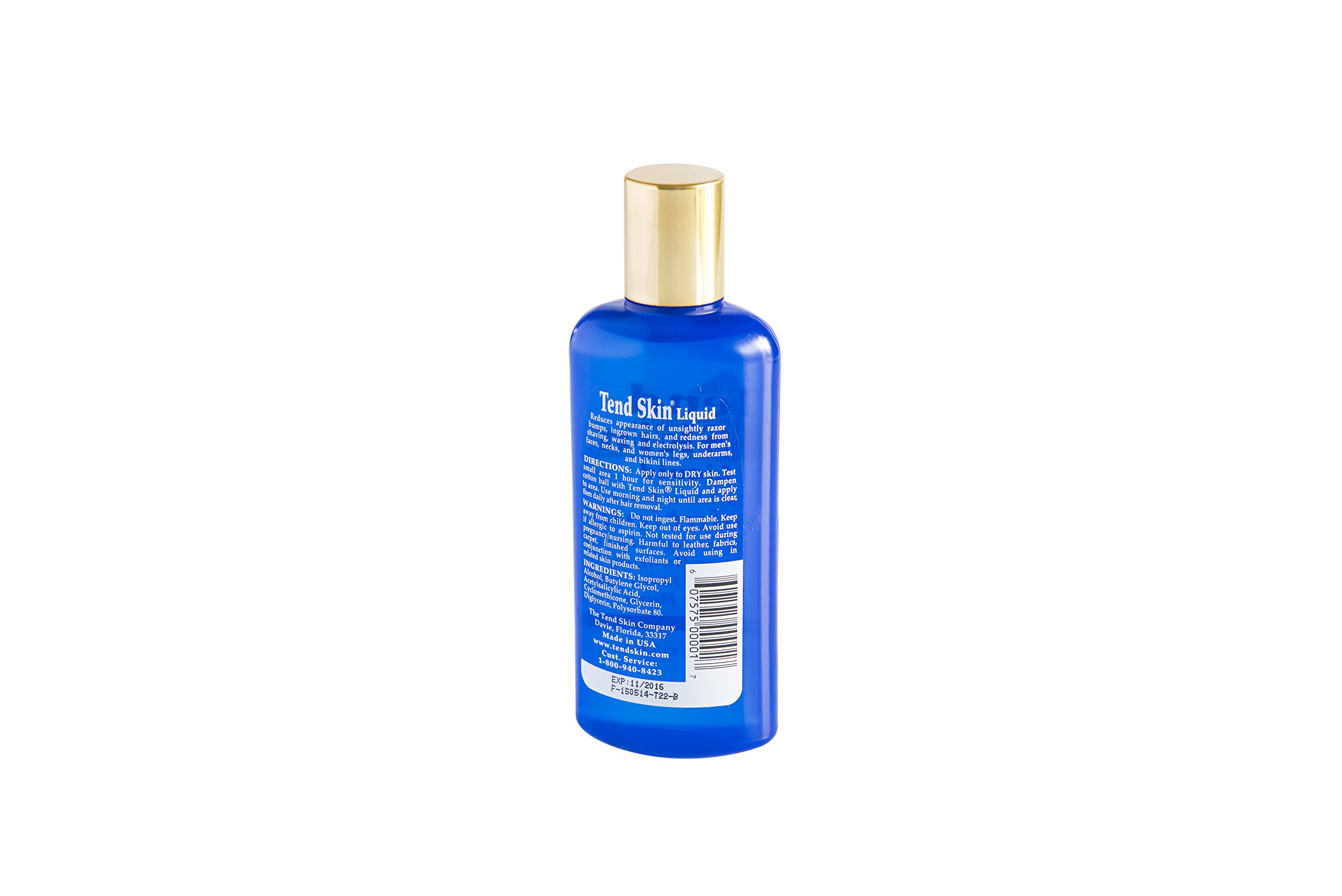 Tend Skin Liquid (4 oz) for Ingrown Hairs & Razor Bumps, For Use After Shave & Wax by Tend Skin (Image #2)