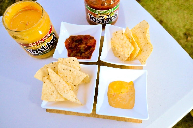 Tostitos Dip, Variety Pack Chunky Salsa , Salsa Con Queso , Creamy Spinach Dip 15oz each