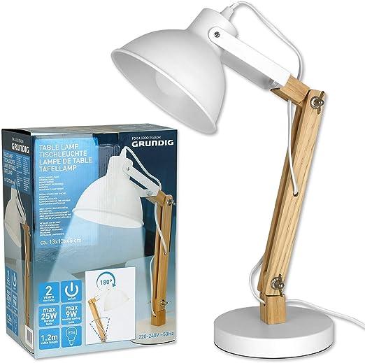 Nouveau Emballé Grundig One DEL Couleur Changeante Lampe de table avec variété de couleurs