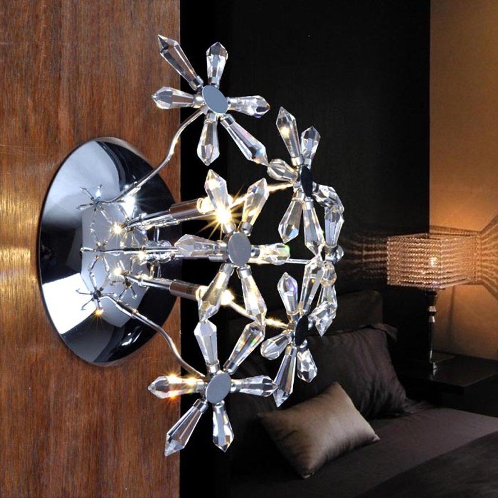 Fu Man Li Trading Company Crystal Wandleuchte moderne einfache Eisen Halle Eingang Halle Flur WC Beleuchtung A+