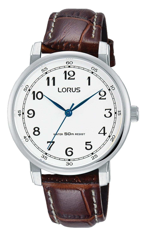 estilos frescos primera vista calidad perfecta Amazon.com: RELOJ CUARZO LORUS DAMA RG291MX9 Café: Watches