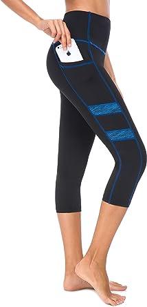 Zinmore Women Power Flex Yoga Pants Workout Running Leggings Printed Yoga Leggings