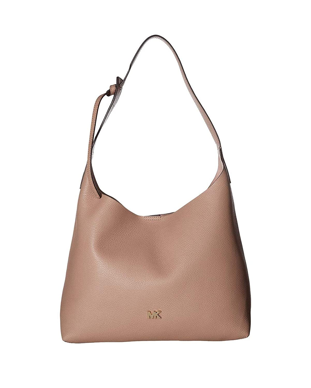 fc1fa64bc4 Amazon.com  MICHAEL Michael Kors Women Junie Medium Leather Hobo Bag ...