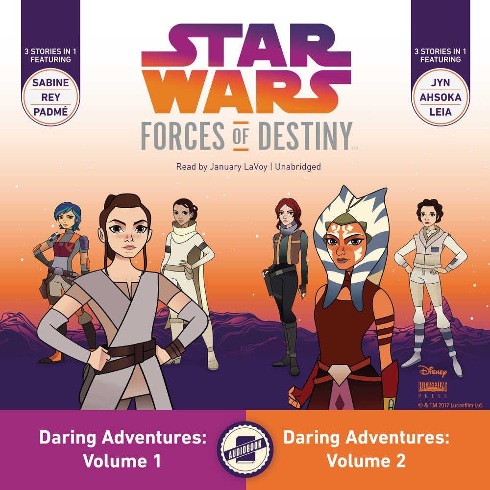 Read Online Star Wars Forces of Destiny Daring Adventures: Volumes 1 & 2 (Star Wars: Forces of Destiny Daring Adventures Series) PDF