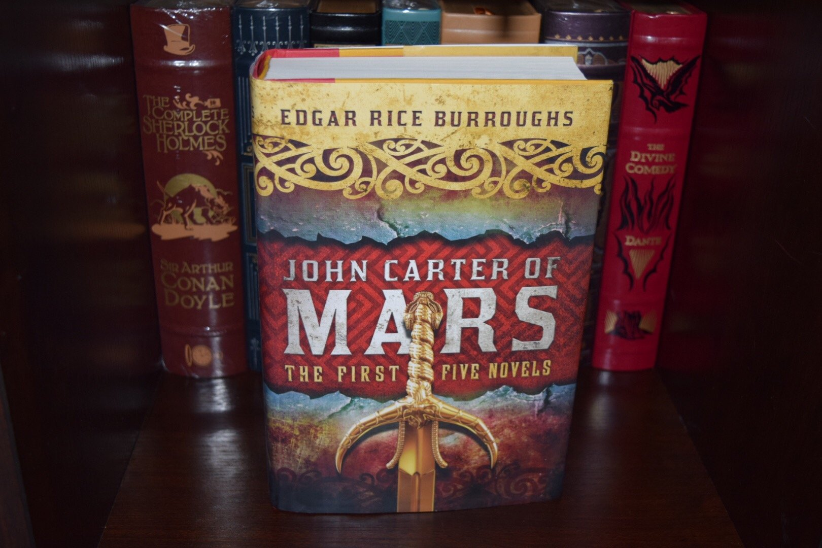 John Carter of Mars 1st Five Novels by Edgar Burroughs New Hardcover Edition