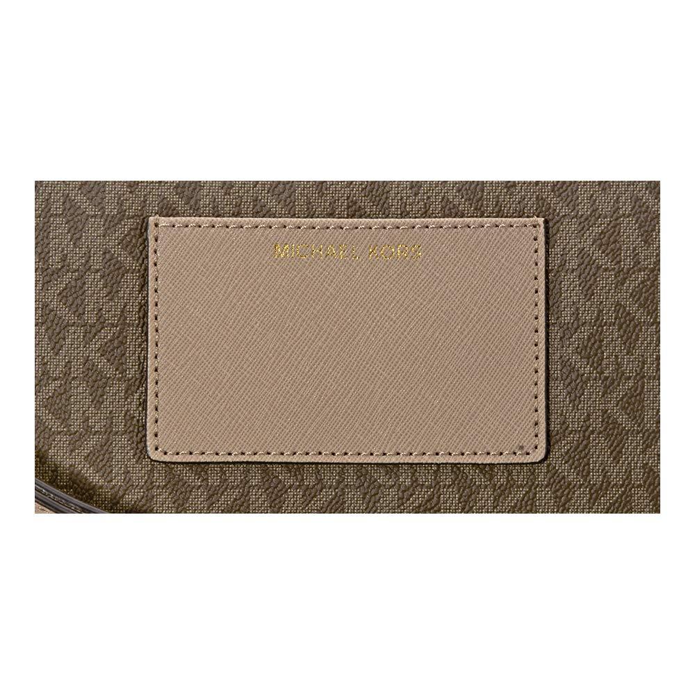 e30c6c31ef92 Michael Michael Kors Bedford Signature Large Double Zip Wristlet  Handbags   Amazon.com