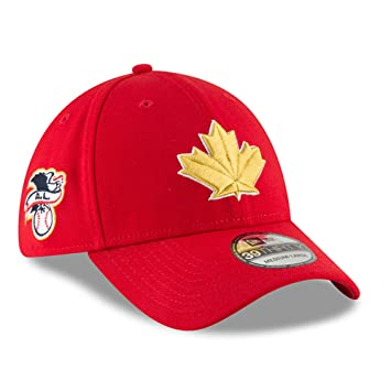 cheap for discount fedad 8bfcb Men s Toronto Blue Jays New Era Red 2018 Stars   Stripes 4th of July 39THIRTY  Flex