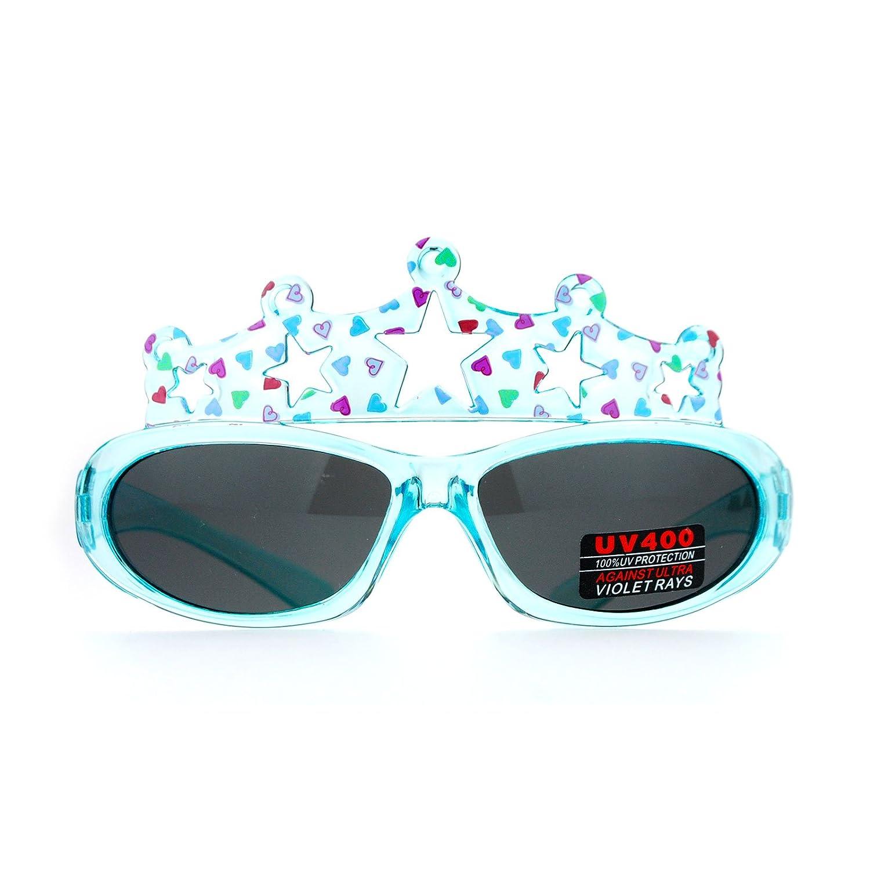 Kid's Sunglasses Birthday Girls Party Crown Princess Fashion UV 400
