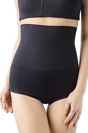 50986313a12bd MD Womens Shapewear Firm Tummy Control Briefs Rear and Bottom Body Shaper  Small Black