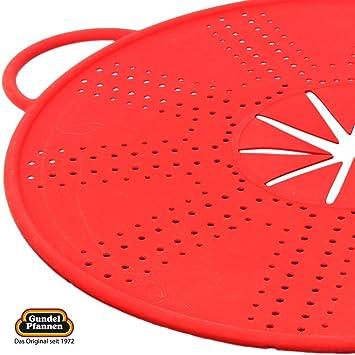 De silicona protector de la salpicadura de diámetro 33 cm para sartenes, ollas, Woks y tazones de fuente en varios colores: Amazon.es: Hogar