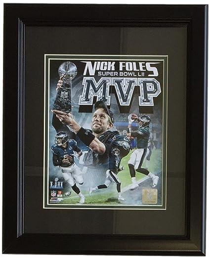 db51f52cb Nick Foles Framed 8x10 Philadelphia Eagles Super Bowl 52 MVP Collage Photo
