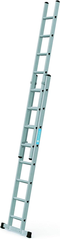 Zarges 44834 Everest 2DE-Escalera deslizante 2x8 Spr: Amazon.es: Bricolaje y herramientas