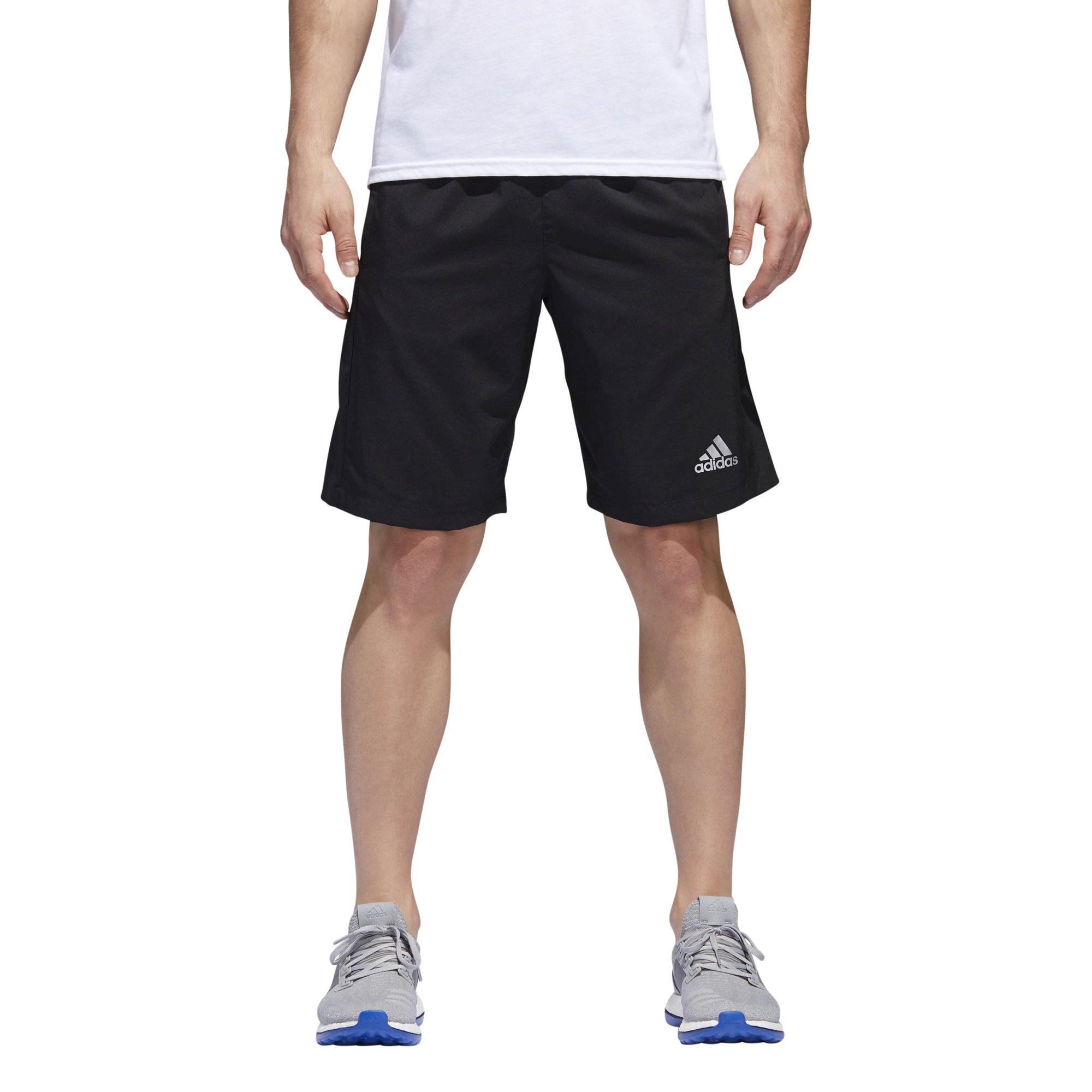adidas Men's Designed-2-Move Shorts, Black, Large