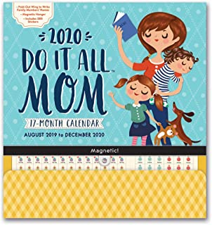 Amazon.com : More Time Moms 2020 Family Organizer Wall ...