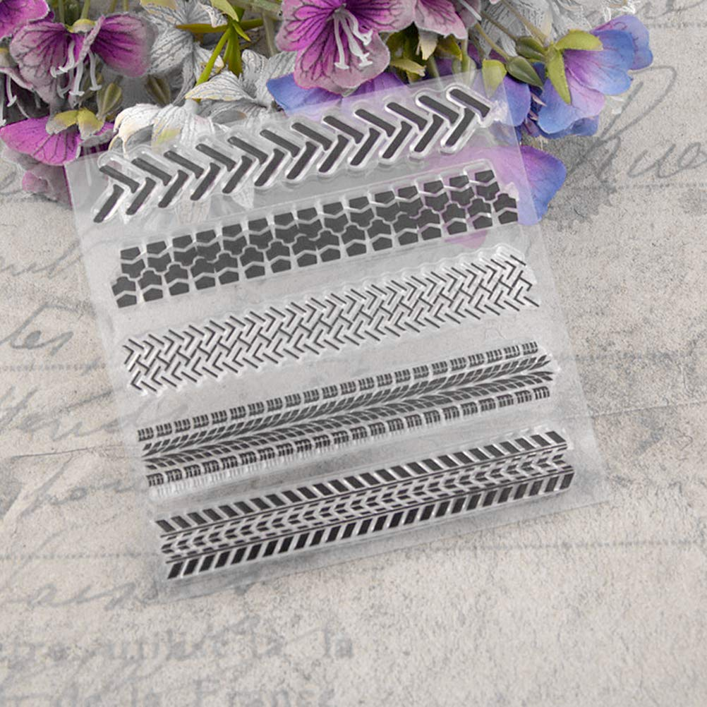 Sello transparente Sellos transparentes para la decoraci/ón del /álbum de fotos de la tarjeta del arte de Scrapbooking DIY T1490