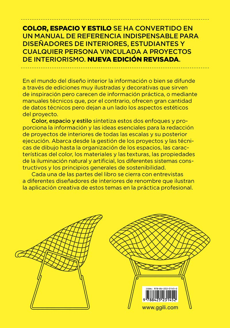 Color, espacio y estilo : detalles para diseñadores de interiores: Chris Grimley, Mimi Love: 9788425231452: Amazon.com: Books