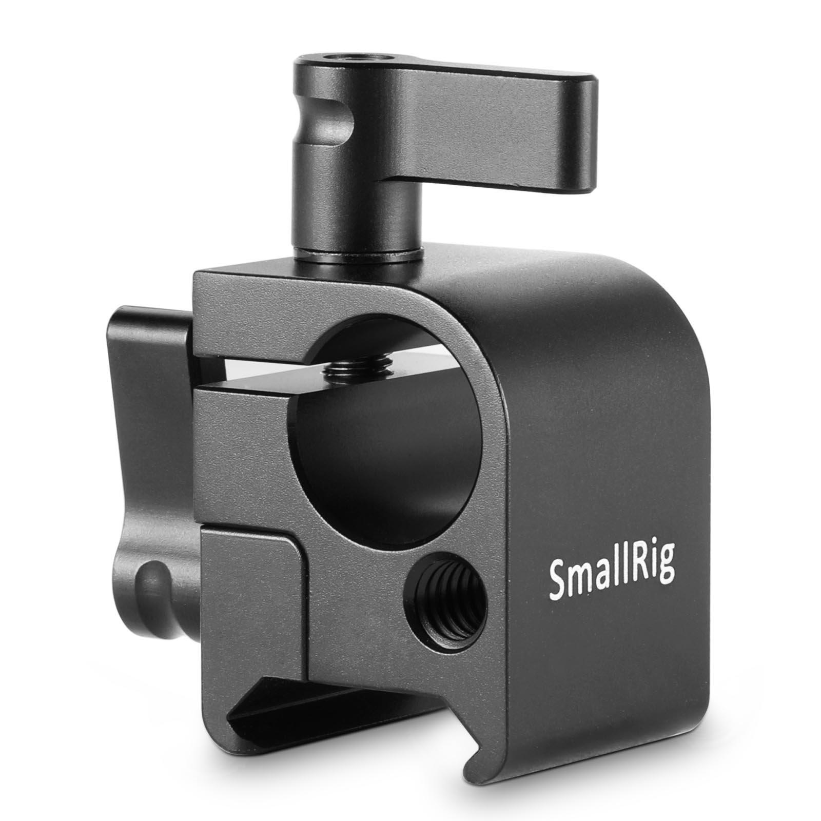 SMALLRIG NATO Lock Clamp with Single 15mm Rod Clamp for Monitor Mount, EVF Mount, LCD Light - 1254