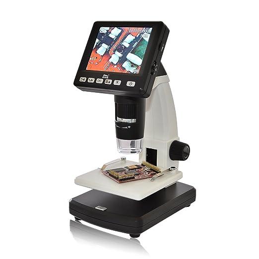 """5 opinioni per DNT- Microscopio digitale""""DigiMicro Lab 5.0"""", 5 megapixel, display da 8,8 cm"""
