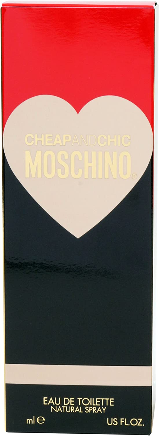 Amazon.com : Cheap & Chic By Moschino For Women. Eau De Toilette Spray 1.7 Ounces : Perfume Mochino : Beauty