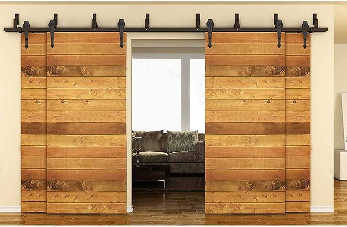 Hahaemall - Pasador de 4 puertas, estilo vintage, estilo clásico, para puerta de madera y armario, con pasador de 4 puertas, con el mejor juego pesado de 4 puertas: Amazon.es: Bricolaje y herramientas