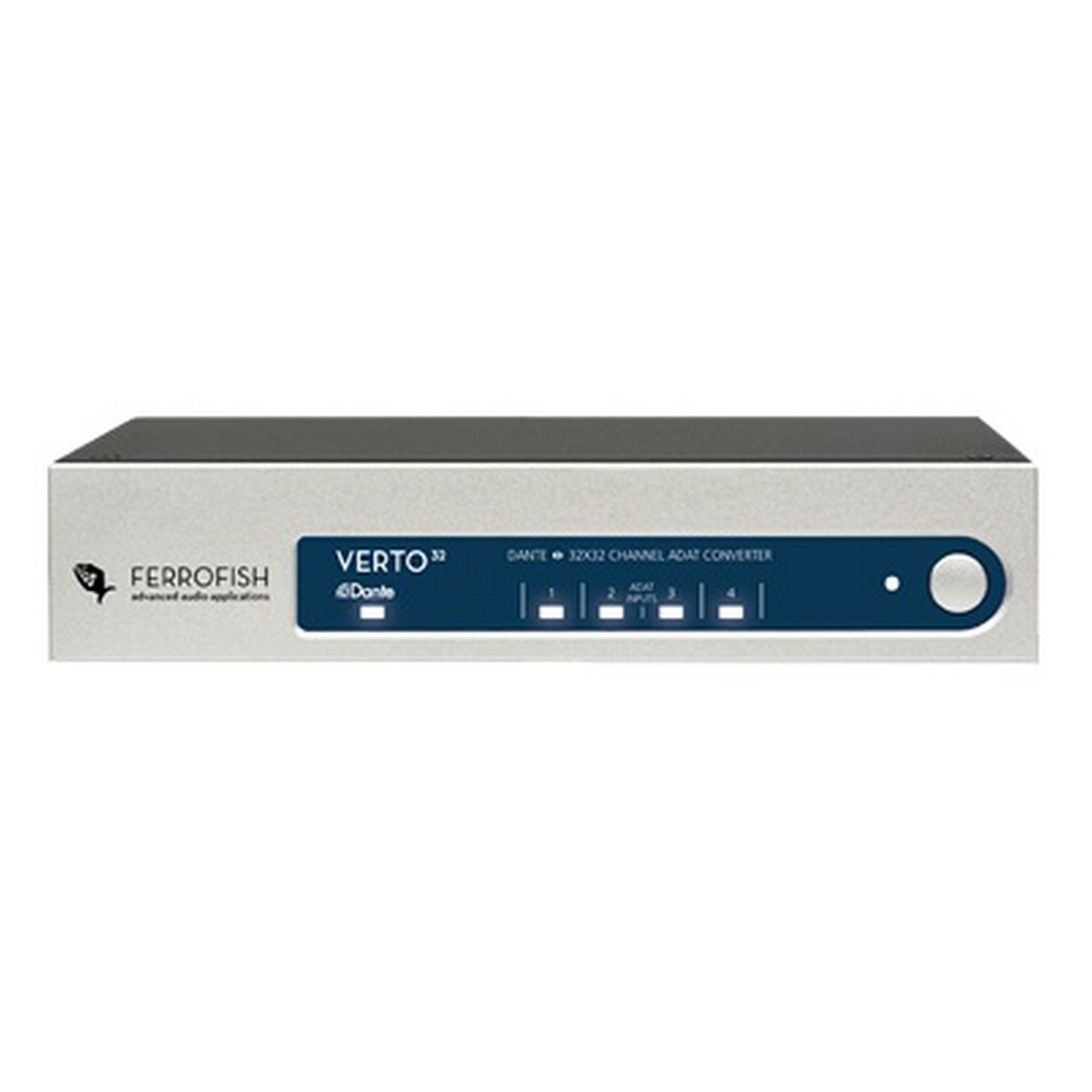 Ferrofish Verto 32, 32 Channel ADAT Dante Format Converter