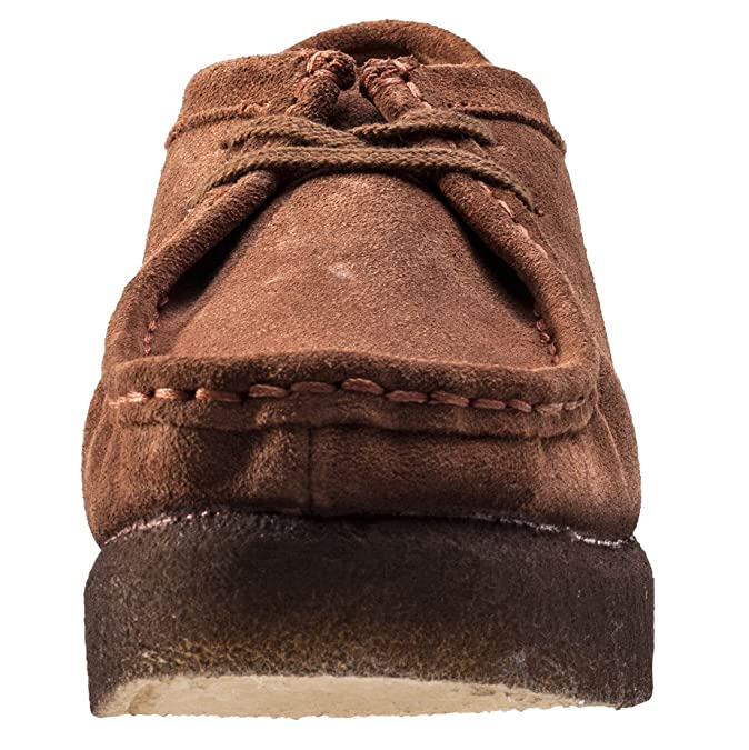 526d4126f Clarks Originals Peggy Bee Womens Wedges Cola Suede - 7 UK  Amazon.co.uk   Shoes   Bags
