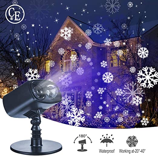 Luces De Proyector Navidad Interior y Exterior, Proyección Led ...