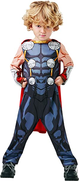 Fancy Ole – Disfraz de Thor para niño de los Vengadores Assemble ...