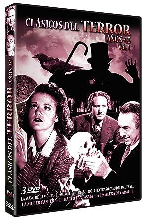 Clasicos del terror Años 40 - Vol. 1 [DVD]: Amazon.es: Varios ...