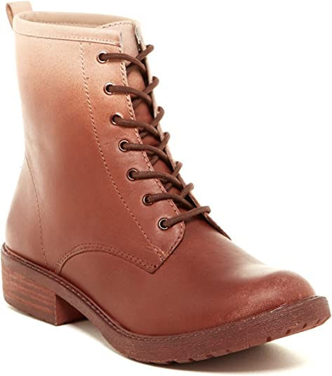 Lucky Brand Novembere Lace-Up Bourbon