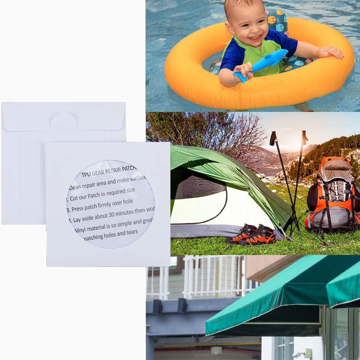 Wasserdichter Patch Transparenter TPU Camping Zelt Reparaturband Schwimmring