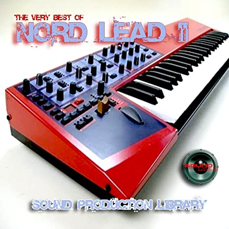 Amazon com: NORD LEAD II - Large unique original 24bit WAVE/Kontakt