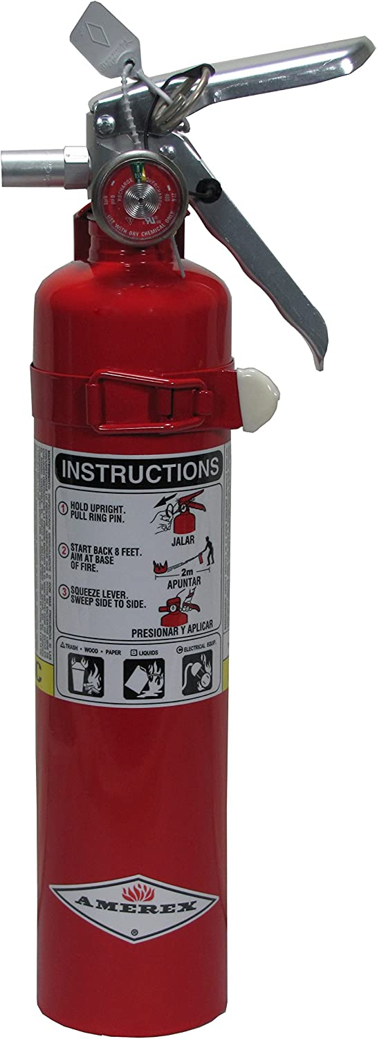Amerex Dry Chemical Fire Extinguisher – B417T – 2.5 Pounds