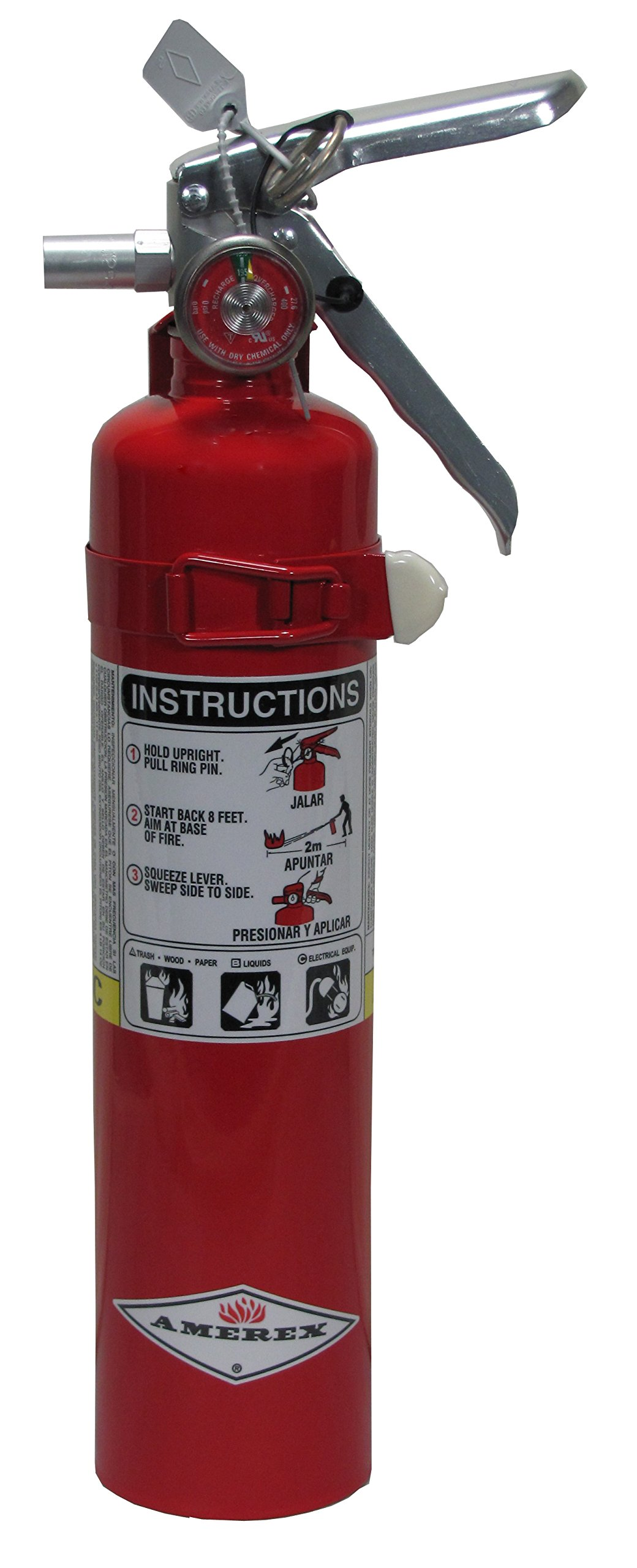 Amerex Dry Chemical Fire Extinguisher - B417T - 2.5 Pounds by Amerex