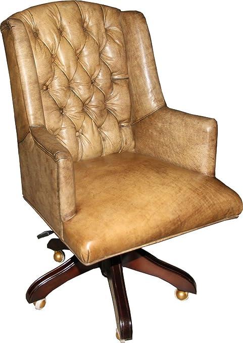 Casa Padrino Luxe Cuir Fauteuil de Bureau Chaise de Bureau