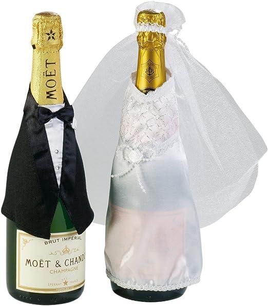 tib Juego de 2 botellas de boda, multicolor, Talla única 15199: Amazon.es: Juguetes y juegos